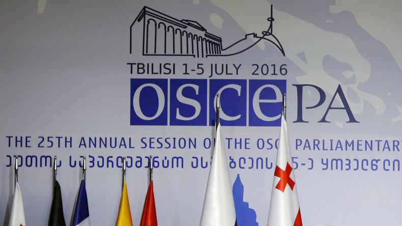 "Russland verlässt Parlamentarische Versammlung der OSZE wegen ""propagandistischer"" Krim-Resolution"