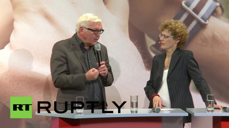 """""""Deutschland muss endlich seine Zurückhaltung aufgeben und Führungsrolle übernehmen"""" – Steinmeier"""