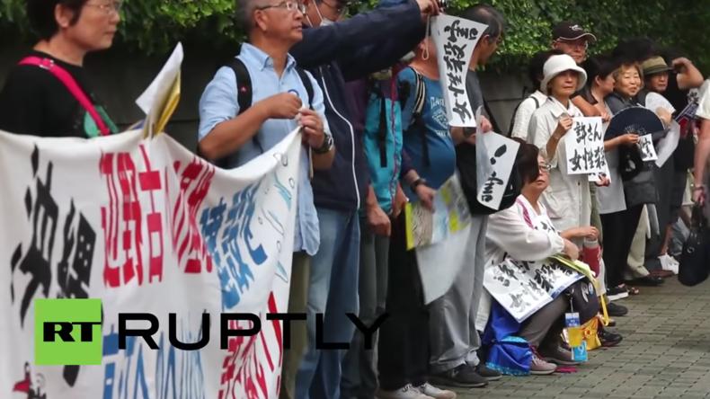 Japan: Die Proteste reißen nicht ab – Erneute Demonstration gegen US-Militärpräsenz in Okinawa