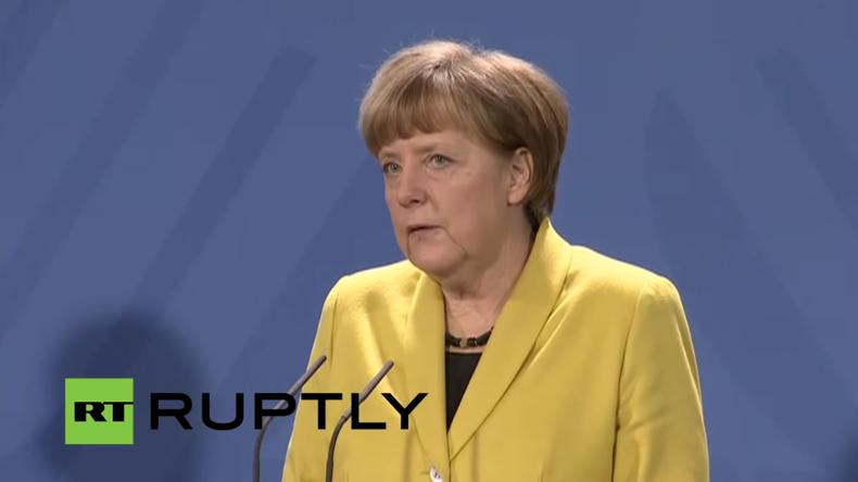 Live: Bundeskanzlerin Merkel und argentinischer Präsident Macri geben Pressekonferenz