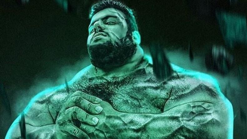 """XXL-""""Hulk"""" aus Iran meldet sich, um den IS in Syrien zu vernichten"""