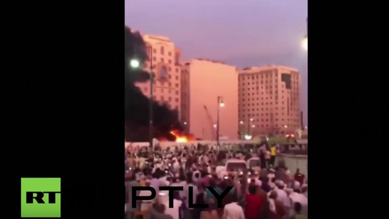 Saudi-Arabien: Selbstmordattentäter sprengt sich vor Propheten-Moschee in Medina in die Luft