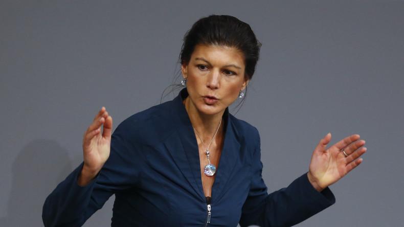"""Sahra Wagenknecht kritisiert NATO: """"Europa würde einen militärischen Konflikt nicht überleben"""""""
