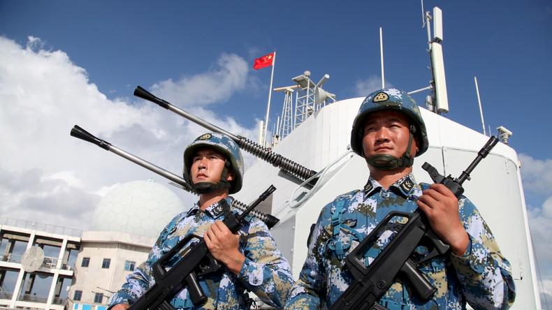 """""""USA werden einen hohen Preis zahlen"""" - China bereit USA im Südchinesischen Meer zu konfrontieren"""