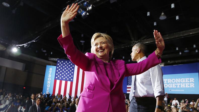Hat Grund zur Freude: Das FBI verzichtet auf eine Anklage gegen Hillary Clinton