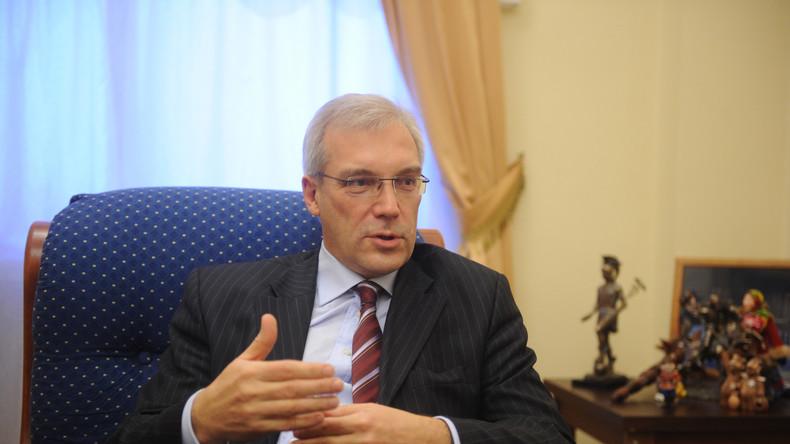 Russland schlägt den USA einen Plan zur Vereitelung von Vorfällen auf See und in der Luft vor