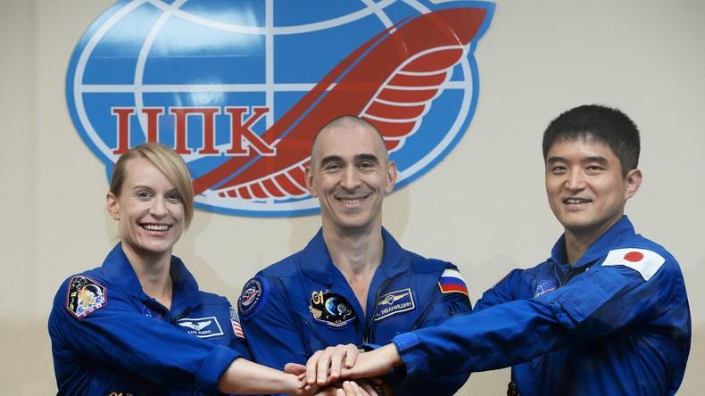 Reise zur ISS: Sojus-Weltraumrakete der neuesten Generation hebt ab