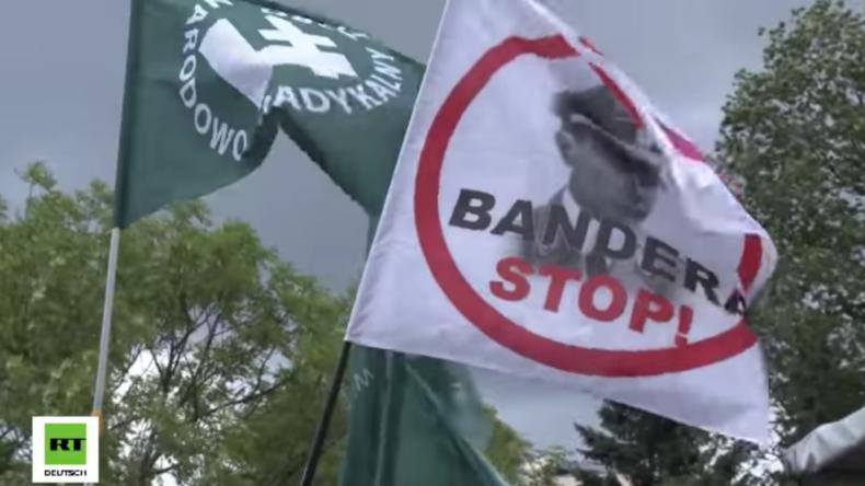 Warschau: Protest gegen Pro-Bandera-Kurs der polnischen Regierung