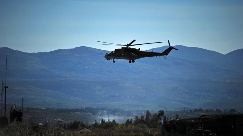 IS schießt russischen Hubschrauber ab: Woher kommen die dafür nötigen Waffen und Informationen?