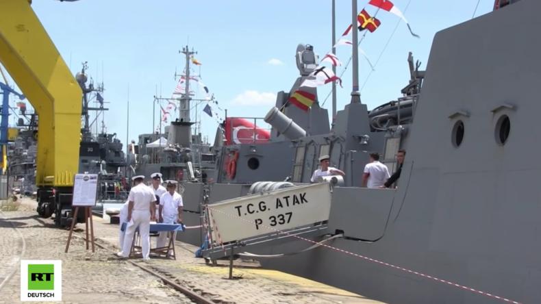 """Bulgarien: NATO-Manöver """"Breeze 2016"""" an der Küste Burgas im Schwarzen Meer gestartet"""