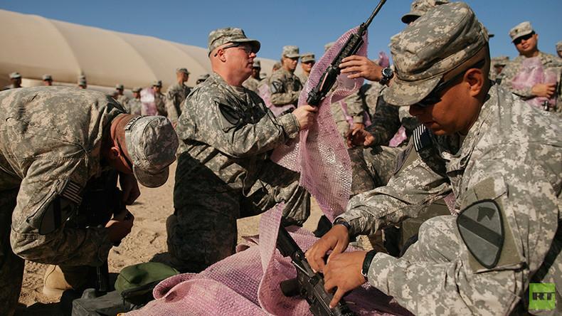 USA entsenden weitere Truppen in den Irak