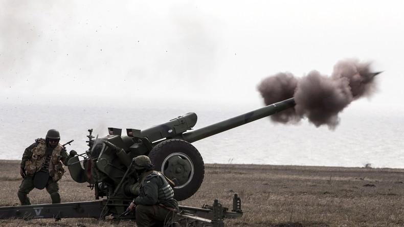Ukraine: Kämpfe im Donbass erreichen neue Eskalationsstufe