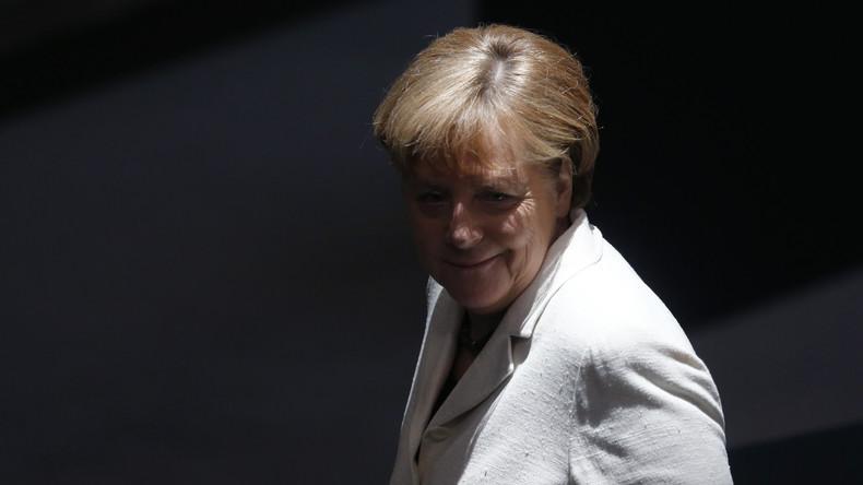 Merkel bei Wahlkampfrede: Flüchtlingsbewegungen genutzt, um Terroristen nach Europa einzuschleusen