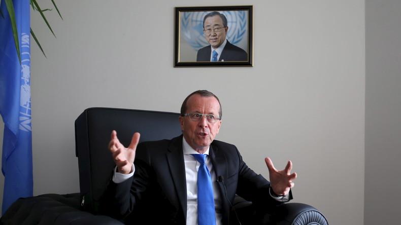 Martin Kobler, der UN-Sondergesandte für Libyen.