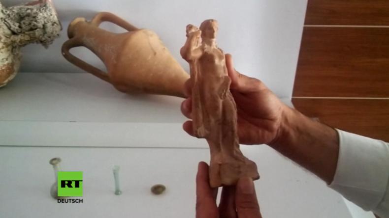 Türkei: Schmuggler mit 2000 Jahre alter Aphrodite-Statue von unschätzbarem Wert gefasst