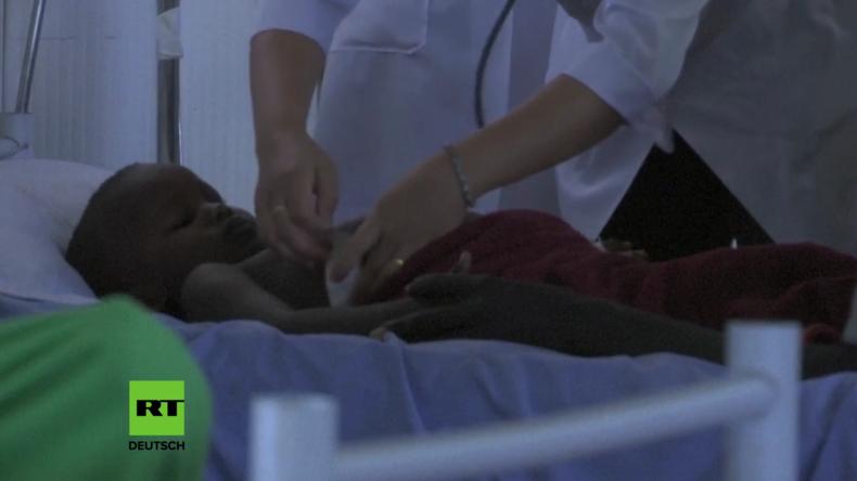 Kinder durch Mörserfeuer verletzt: Viele Verletzte in UN-Klinik seit Ausbruch der Kämpfe im Südsudan