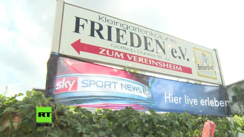 """Unfrieden in der Berliner """"Kleingartenkolonie Frieden"""""""