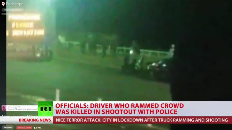 Live-Berichterstattung zu Nizza: LKW rast in Menschenmenge - 60 Tote und 100 Verletzte
