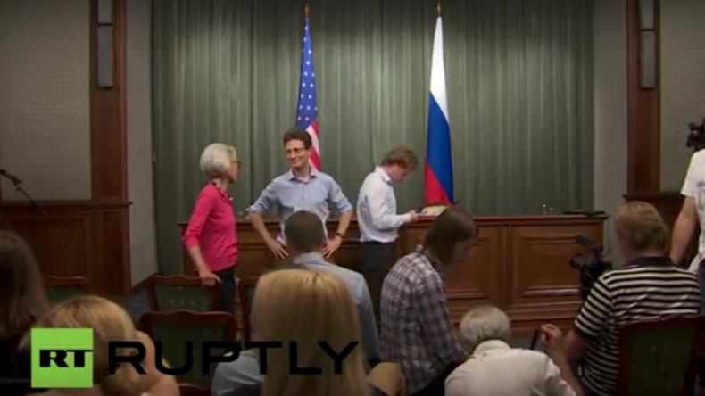 Live: Lawrow und US-Außenminister Kerry in Moskau - Pressekonferenz