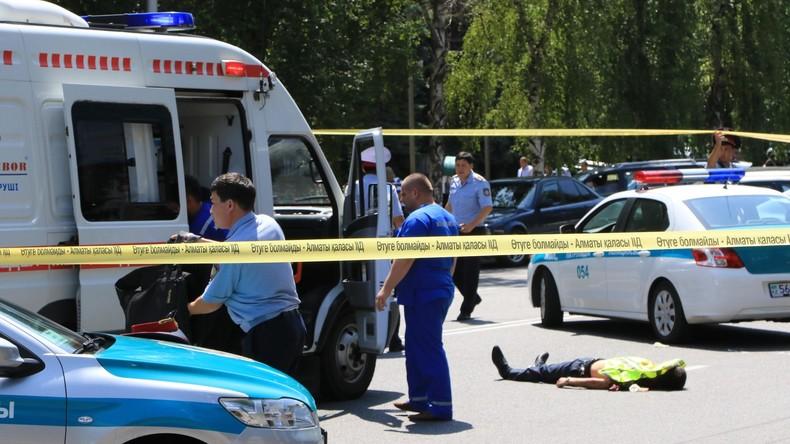 Angriff auf Polizeistation im kasachischen Almaty: 4 Tote - Terrorwarnung auf Höchststufe