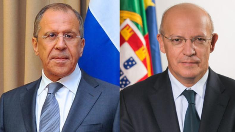 Live: Sergej Lawrow und Portugals Außenminister Santos Silva in Moskau - Pressekonferenz (engl.)