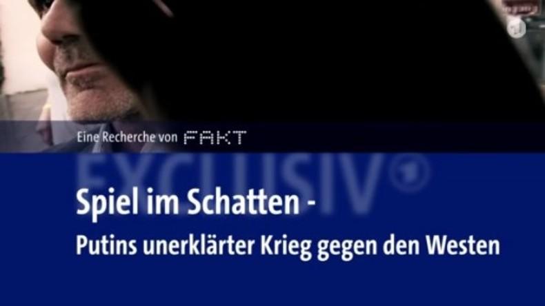 Propaganda gegen RT Deutsch: ARD spielt im Schatten