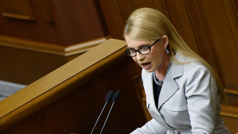 Angespannte politische Stimmung in der Ukraine: Vaterlands-Partei wirft Regierung Wahlbetrug vor