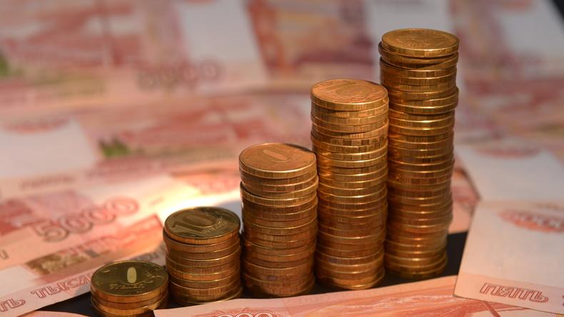 Rubel auf Jahreshoch gegenüber Dollar und Euro