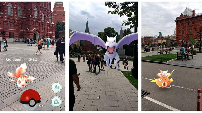 Pokémon-Fieber in Moskau: Monsterjagd auf dem Roten Platz, Lenin-Mausoleum und der FSB-Zentrale