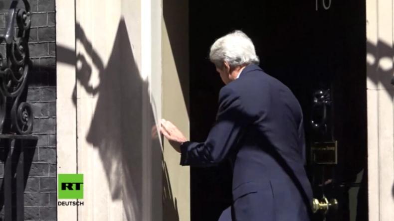 US-Außenminister zu Besuch in London: Downing Street hat keinen Bock auf Kerry