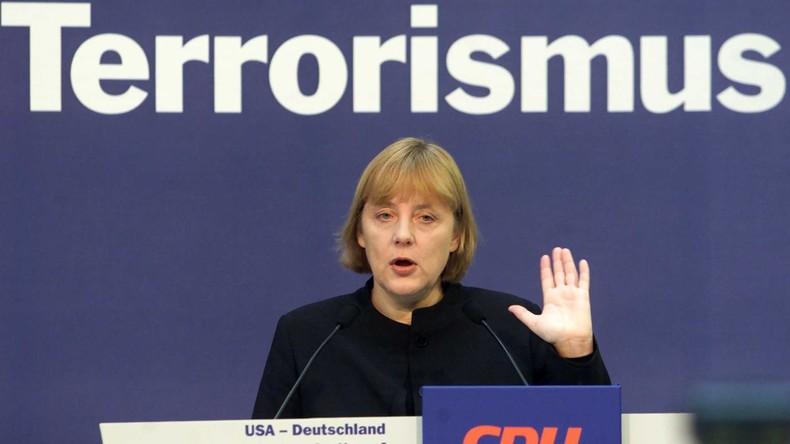 Blick in die Geschichte: Wie Angela Merkel für den Irak-Krieg geworben hat