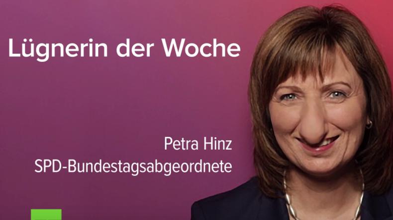 SPD-Bundestagsabgeordnete Petra Hinz – Lebenslauf gefälscht!