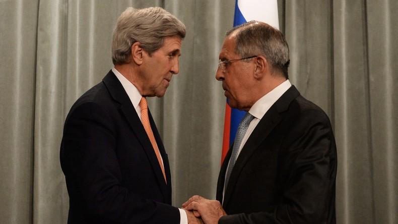 Kerry: Russland und die USA wollen innersyrische Gespräche in Schwung bringen