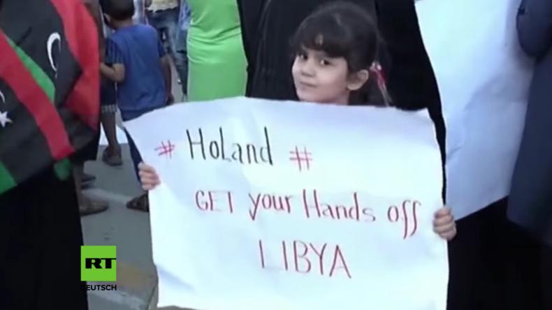 Libyen: Proteste in Tripolis gegen französische Luftangriffe