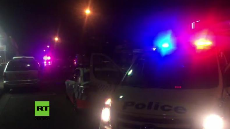 Australien: Mann rast mit Gasbehältern-beladenem Auto in Polizeistation