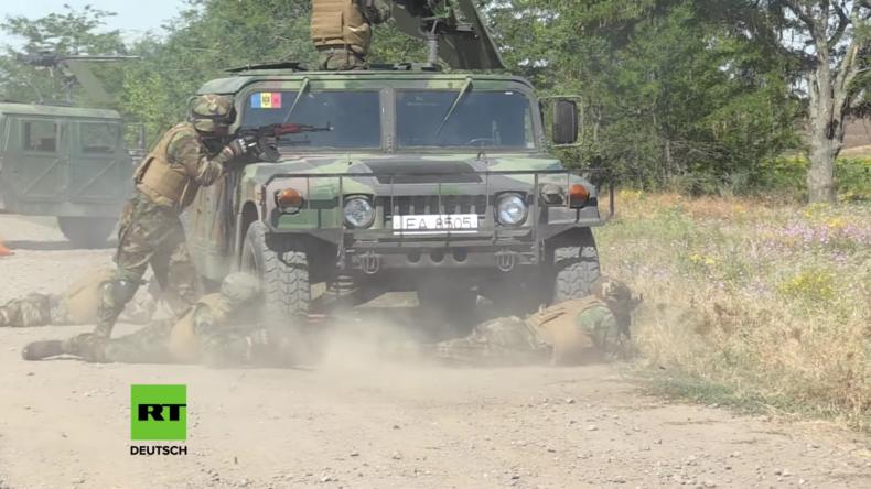 Truppen aus 14 Nationen starten Militär-Übungen in der Ukraine