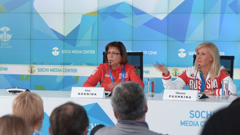 """Irina Rodnina zum Olympia-Bann: """"Im WADA-Bericht fehlen konkrete Fakten und Beweise"""""""