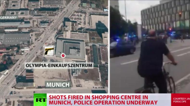 Live-Berichterstattung zu München: Amokalarm nach Schießerei