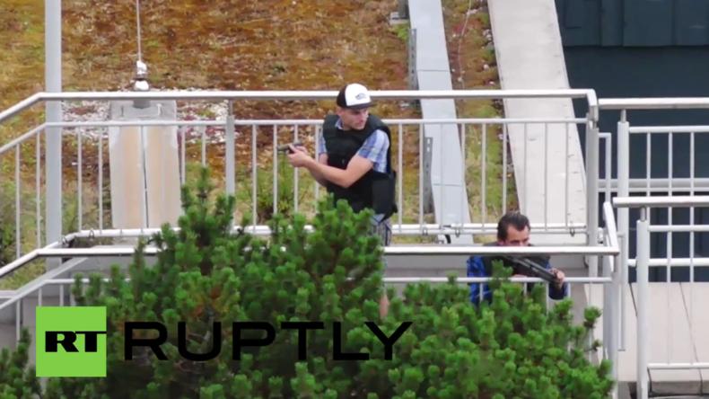Ausnahmezustand in München nach Schießerei: Polizei auf der Suche nach flüchtigen Schützen
