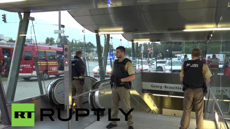 München: Attentäter eröffnen Feuer auf Zivilisten - Mindestens 3 Tote