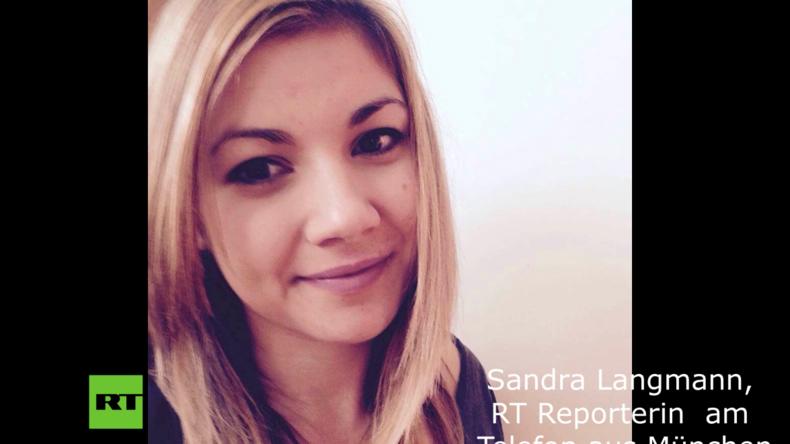 Updates: Journalistin vor Ort zu RT über aktuelle Lage in München