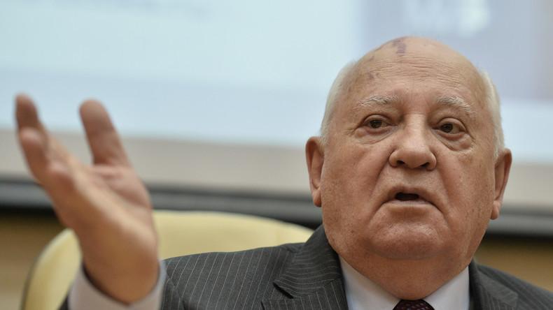 """""""Kollektive Bestrafung inakzeptabel"""" - Michail Gorbatschow schreibt Brief an IOK-Präsidenten Bach"""