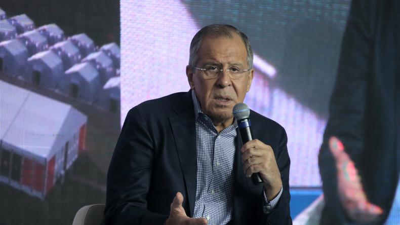 """Russlands Außenminister Sergej Lawrow: """"IS will ein Kalifat von Lissabon bis Pakistan errichten"""""""