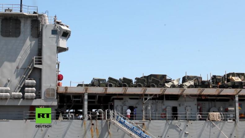 """Ukraine - """"Sea Breeze 2016"""": US-Kriegsschiffe erreichen den Hafen von Odessa"""