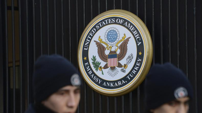 Türkei: US-Außenministerium erteilt Diplomatenfamilien Erlaubnis zur freiwilligen Ausreise