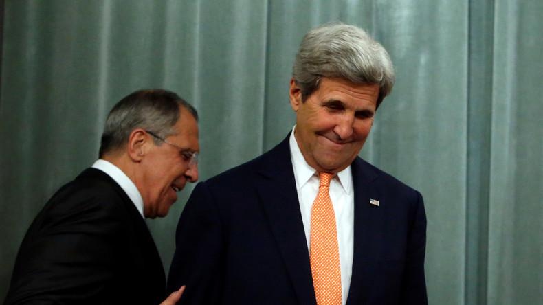"""""""Praktische Schritte zur Terror-Bekämpfung"""" - Treffen von Lawrow und Kerry in Laos"""