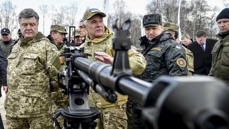 Sicherheits- und Verteidigungsrat der Ukraine plant Verhängung des Kriegszustandes