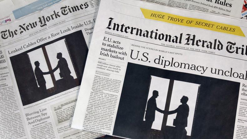 """Alarm-Meldung der New York Times: """"Putin manipuliert US-Wahl"""""""