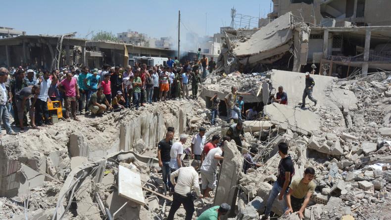 Syrien: Doppelter IS-Bombenanschlag in Kamischli fordert mindestens 50 Todesopfer und 140 Verletzte