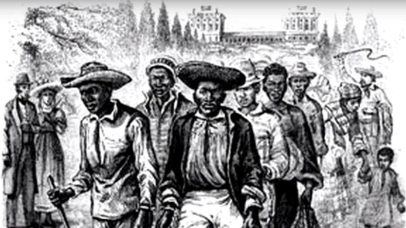 """US-Medien: """"Sklaven, die das Weiße Haus erbauten, wurden gut ernährt und hatte nette Unterkünfte"""""""